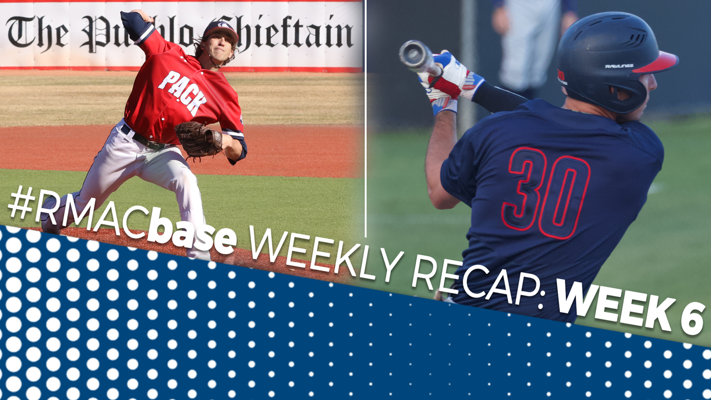 2019 #RMACbase Weekly Recap: Week 6 - Rocky Mountain Athletic Conference