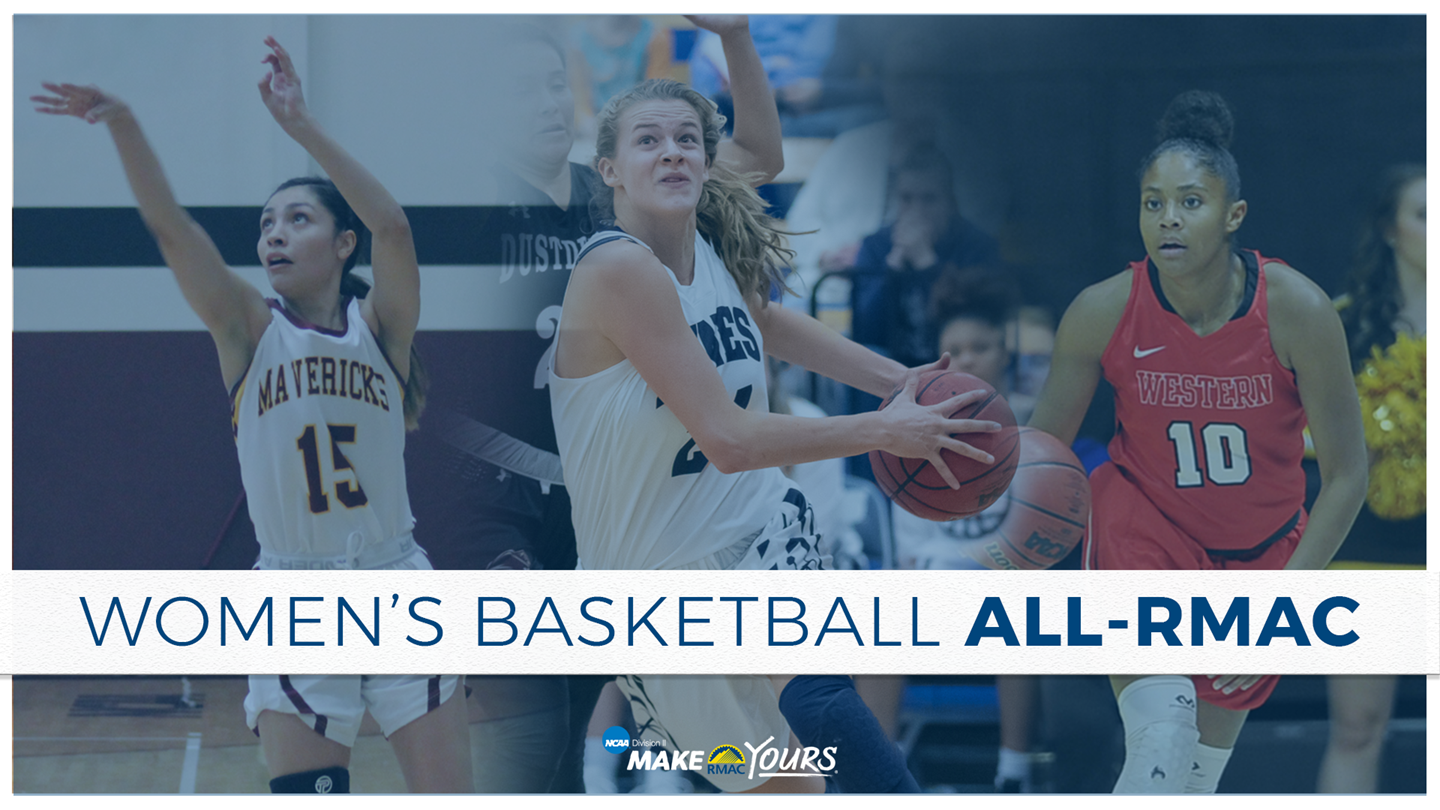 2018-19 Women's Basketball All-RMAC and Major Awards Announced